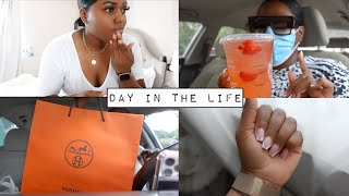 Summer Day In My Life Vlog #9 | Self Care, Nail Appointment & Luxury Haul