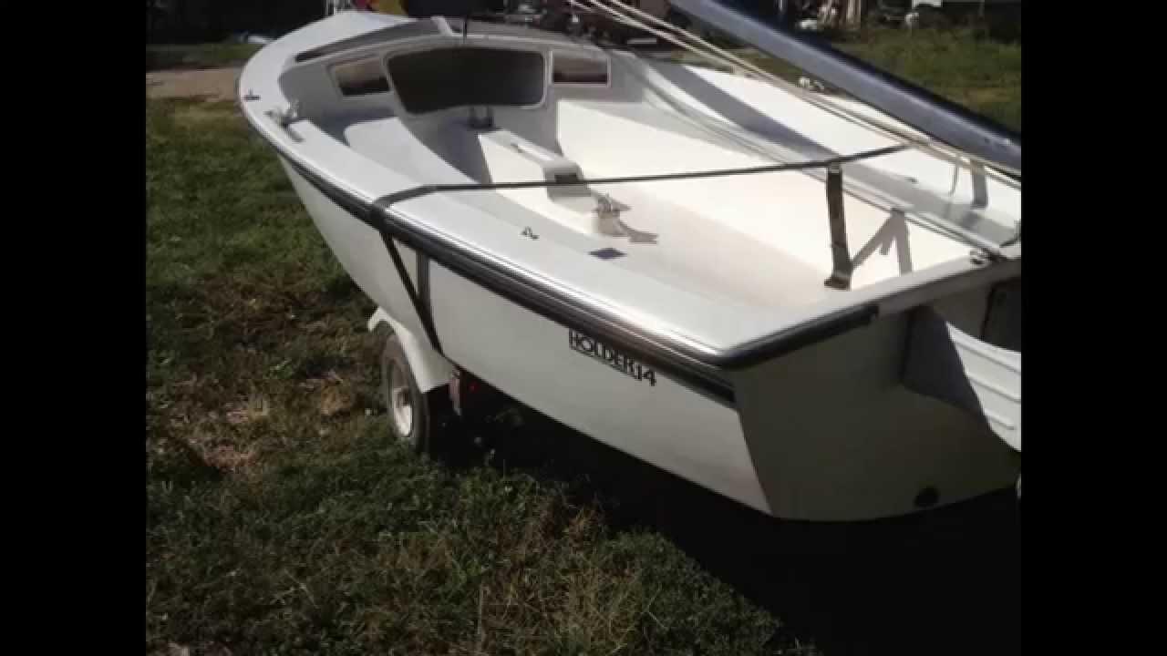 1984 Hobie Holder Sailboat For Sale - YouTube