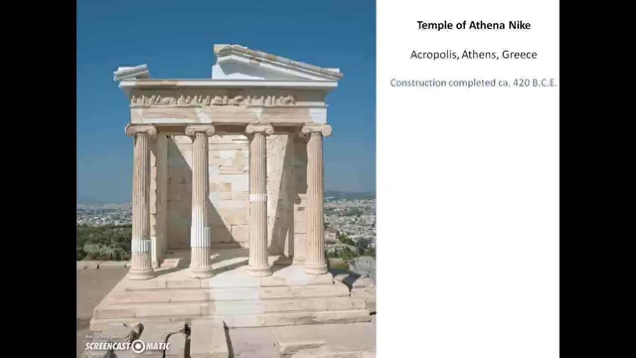 Temple Of Athena Nike Youtube