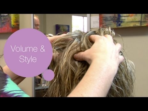 add-volume-&-style-to-short-layered-hair---modernmom-makeover