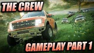 The Crew - Intro - Getting Started - First 35 Minutes of Gameplay