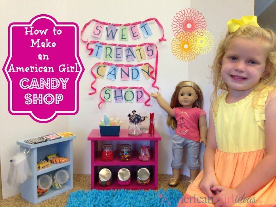 American Girl Doll Candy Shop Playset Review Youtube