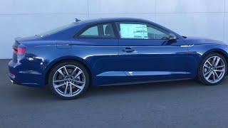 Ascari blue new 2019 audi a5 coupe available in oxnard, california at dch oxnard. servicing the ventura, camarillo, thousand oaks, santa barbara, ca. us...