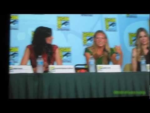 Comic Con 2012 Powerful Women of Pop Culture Panel
