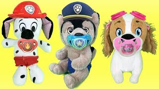 Juguetes paw patrol español:chupetes para bebes cachorros de patrulla canina.Nuevo capitulo 2018