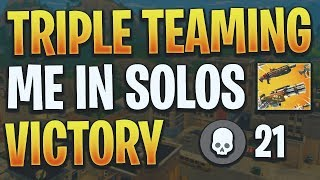 They Were Teaming..21 Kills (Fortnite Battle Royale)