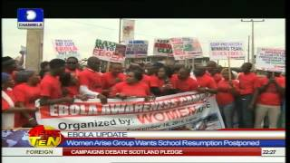 News@10: President Jonathan Asks Nut To Resume On Stated Date 16/09/2014 Pt.2