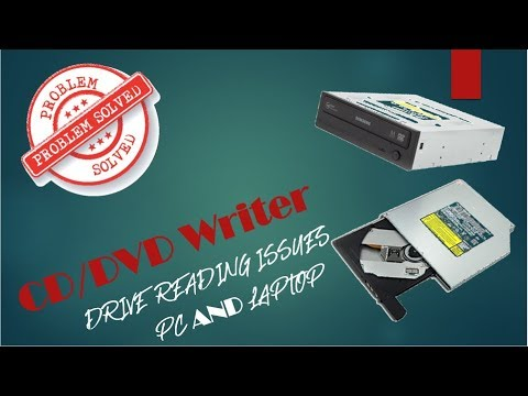 [Solved]DVD Drive not reading a DVD/CD|Tutorial|