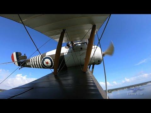 In volo con lo Snipe
