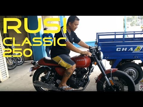 Shopping For A Motorcycle: Rusi Classic 250 RUSI Puan