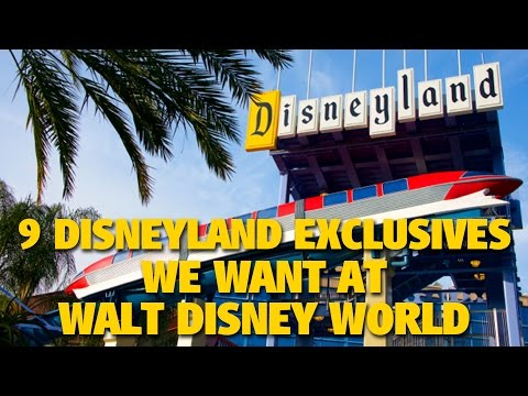 9 Disneyland Exclusives We Want at Walt Disney World   DIS Unplugged Minisode