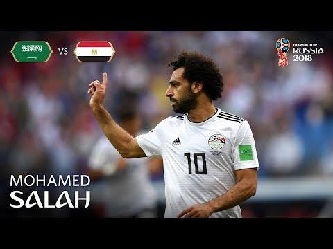 MOHAMED SALAH Goal - Saudi Arabia v Egypt - MATCH 34