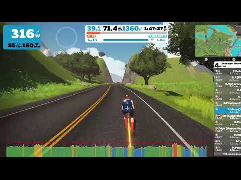 Live streaming  Zwift- XRS Races: Saturday Climbing Series