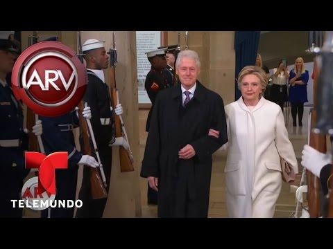 Posibles símbolos en vestidos de Melania Trump y Hillary Clinton   Al Rojo Vivo   Telemundo