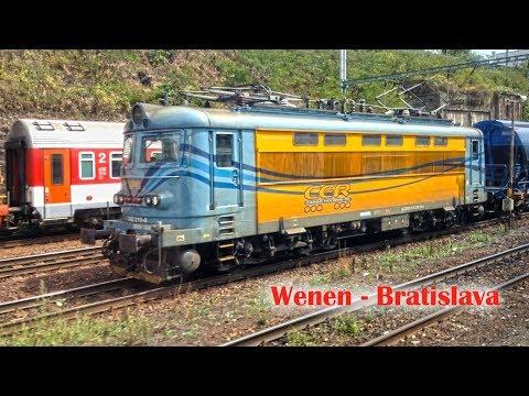 Van Wenen naar Bratislava met de trein