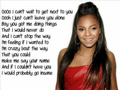 Ashanti - Only You (Lyrics)