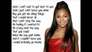 Ashanti Only You Lyrics