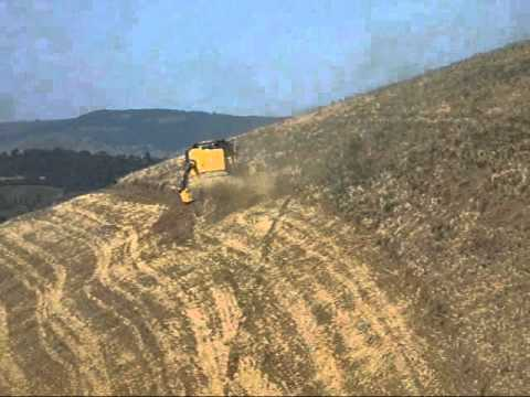 New Holland Tc 5080 Hill Side 4wd 2011 Youtube