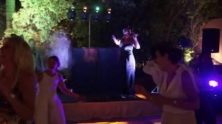 Simone Lisa Vocalist perform Valerie_Villa Padierna