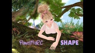 Shape para M3 anime head + Maitreya Lara Body - Utilizador - PamelitaRC - Second Life Anime kawaii
