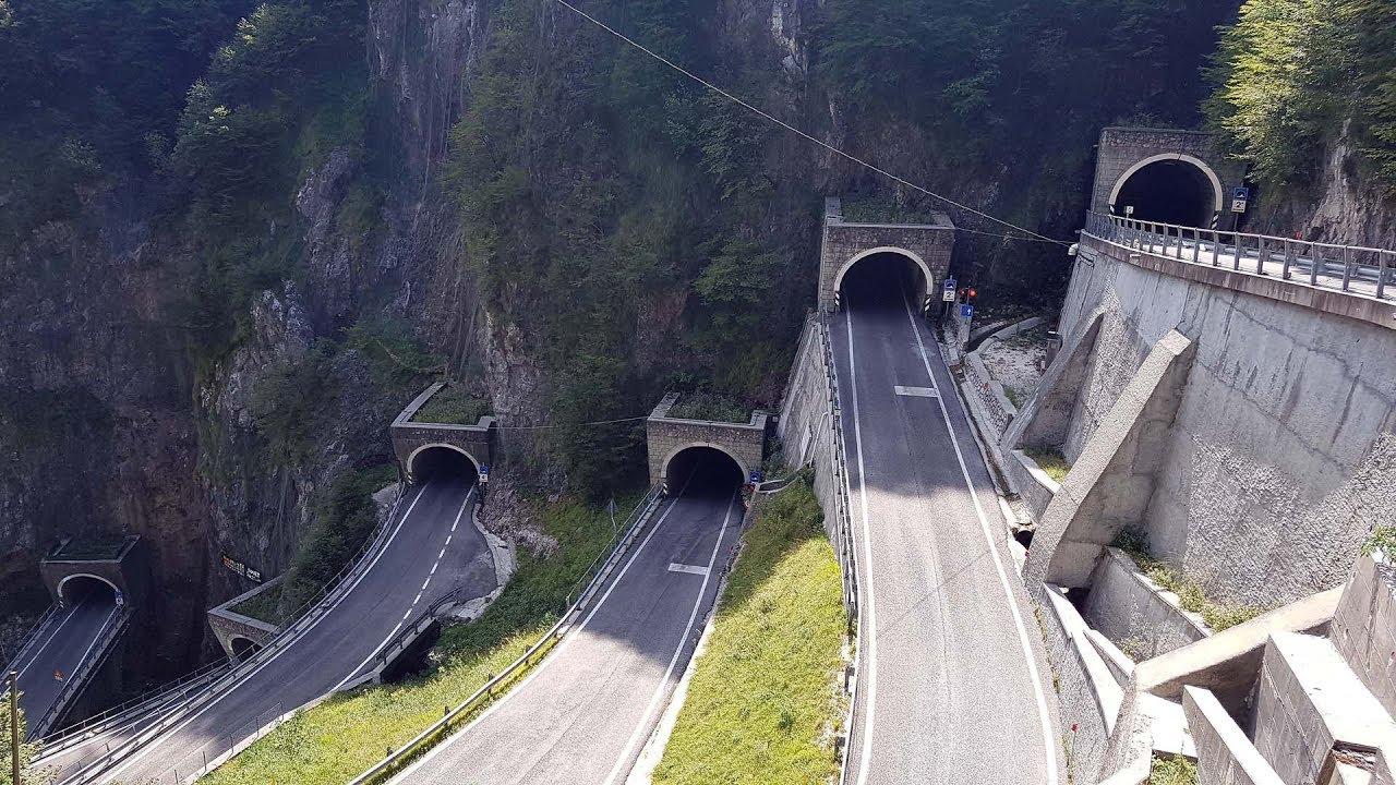 Passo San Boldo Alpen 2017 Youtube