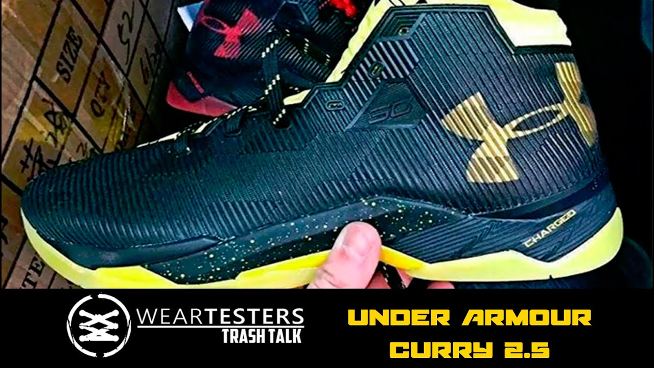 20ac04dbb228 WearTesters Trash Talk  Under Armour Curry 2.5 - YouTube
