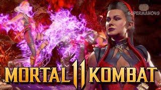 """THE BEST LOOKING SINDEL COMBO! - Mortal Kombat 11: """"Sindel"""" Gameplay"""