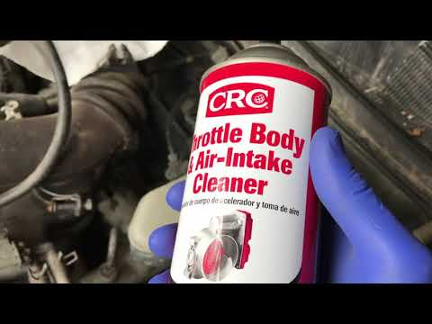 Hard/Stiff/Sticking gas pedal - How to clean Throttle Body FAST & EASY!