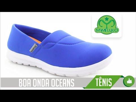 69cc232844 Boa Onda Ocean Mameluko Calçados Profissionais - YouTube