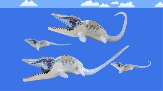 Mosasaurus Family Song - ♫ ♪ ♫ Dinosaur Songs for Kids - Lego Mosasaurus toy Dinosaurs Animation