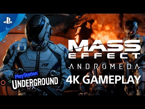 Mass Effect Andromeda - Gameplay Video | PS Underground