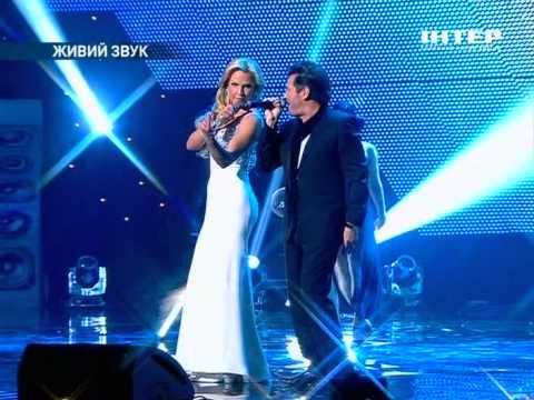 Kamaliya & Thomas  Anders - No Ordinary Love (Live on Yuna , Ukraine 12.02.2012)