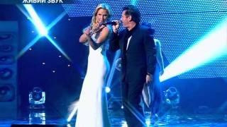 Kamaliya & Thomas  Anders - No Ordinary Love (Live on Yuna , Ukraine 12.02.2012)