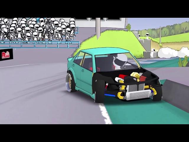 FR LEGENDS: drifting gameplay