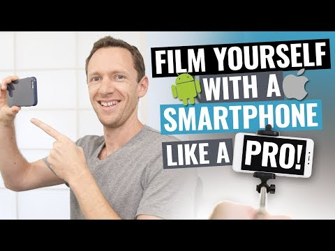 How to Film Yourself with iPhone and Android (Like a PRO!)