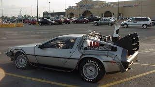 легендарная машина из фильма ''назад в будущее''