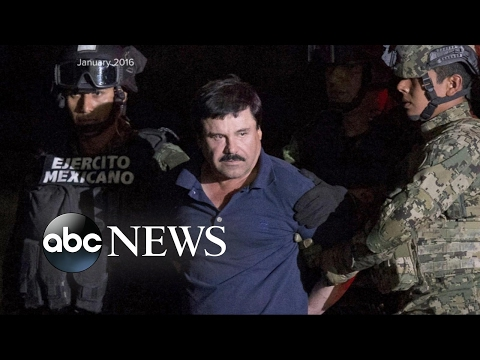 Joaquin El Chapo Guzman Extradited to the US