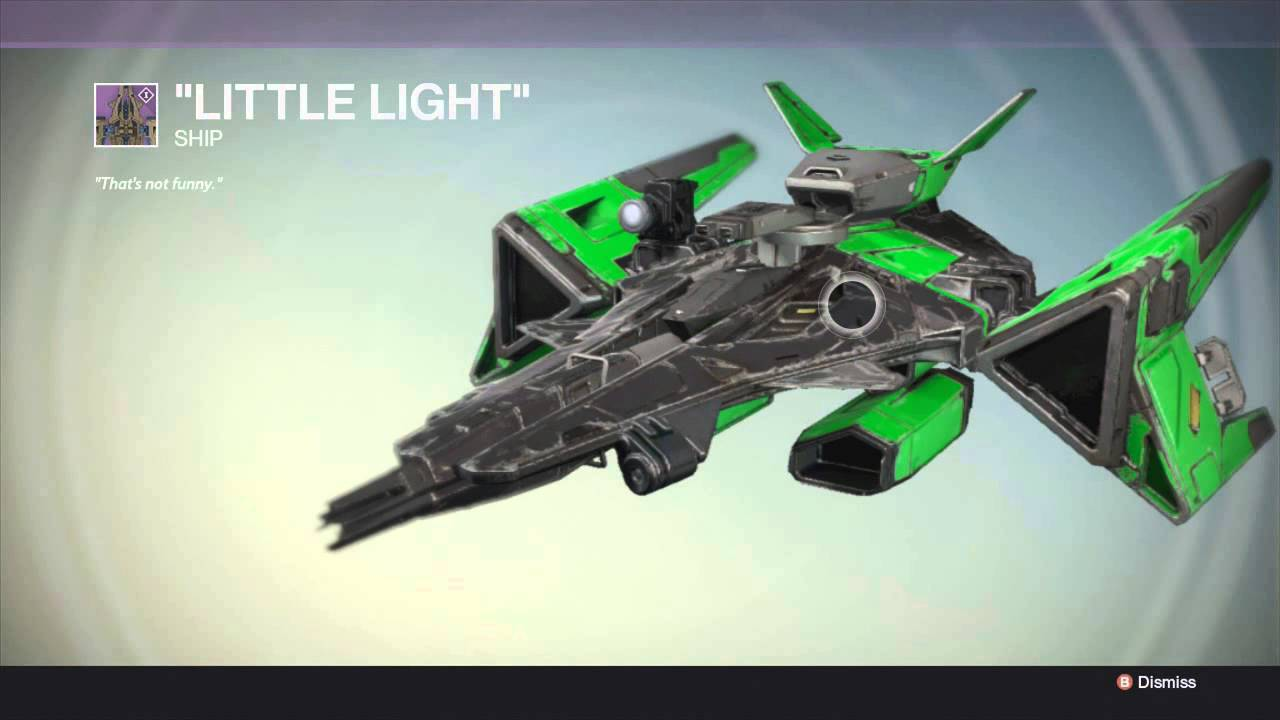 New Legendary Ship On Destiny The Dark Below Legendary Ship Youtube
