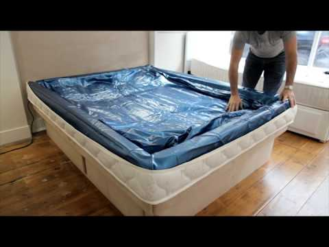 High U0026 Dry Waterbeds   How To Fit A Waterbed Mattress