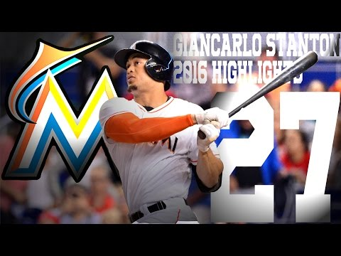 Giancarlo Stanton   Miami Marlins   2016 Highlights Mix ᴴᴰ