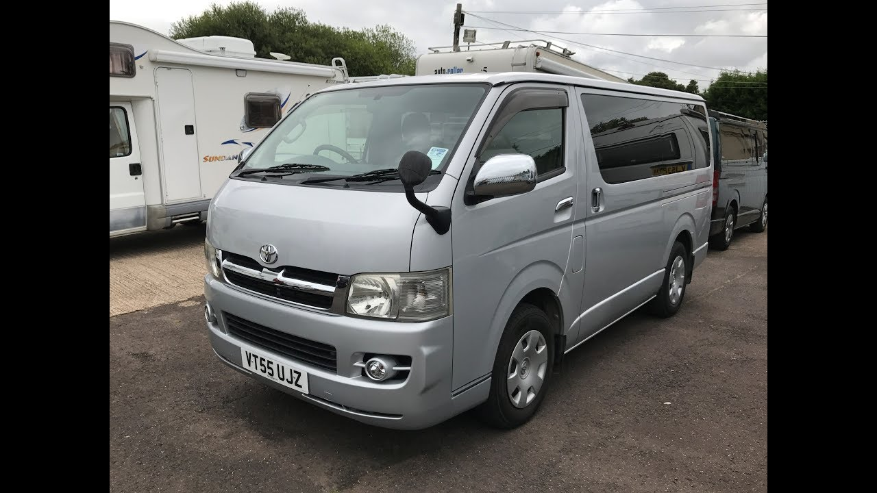 2005 TOYOTA HIACE SUPER GL VAN REVIEW