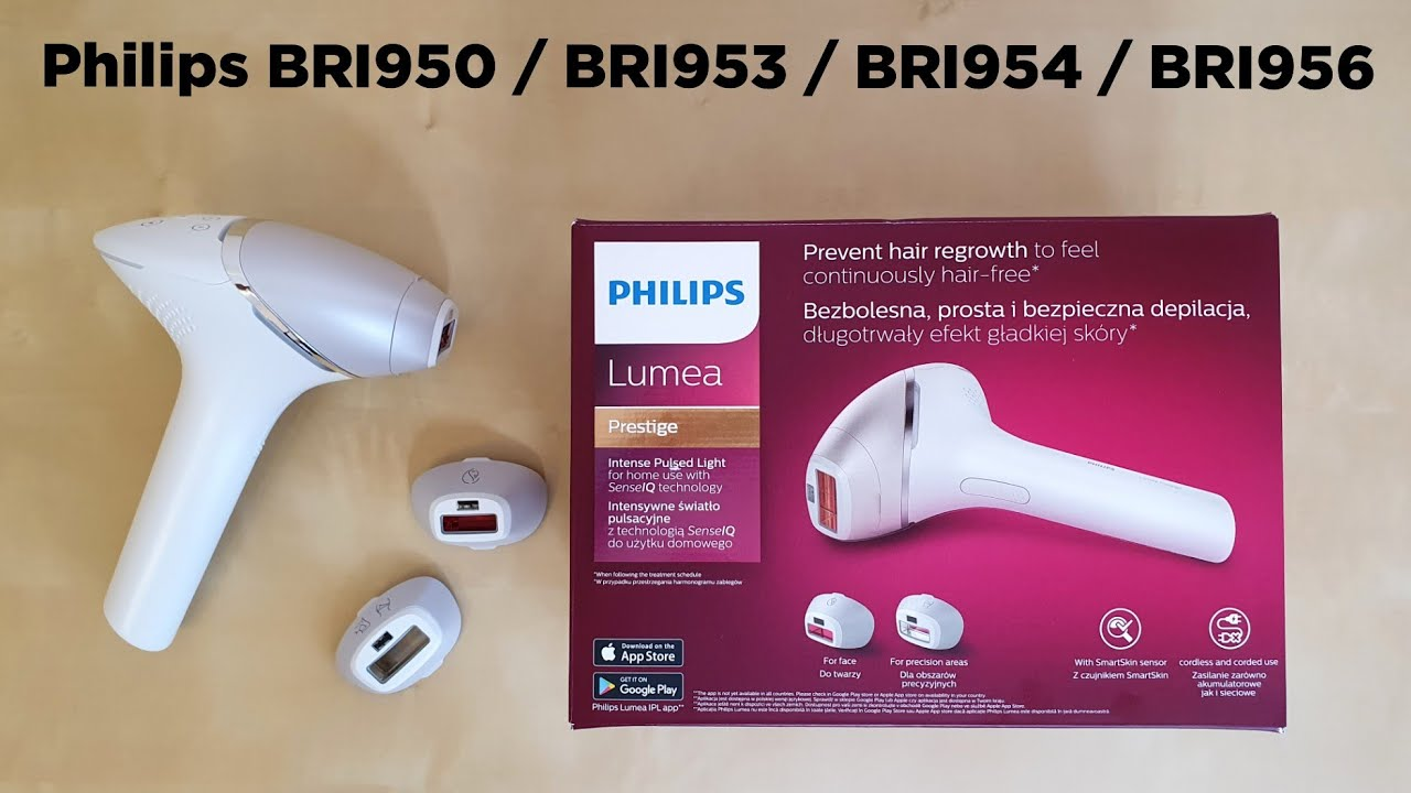 New Philips Bri953 Ipl Hair Removal Machine Review And Unboxing Youtube