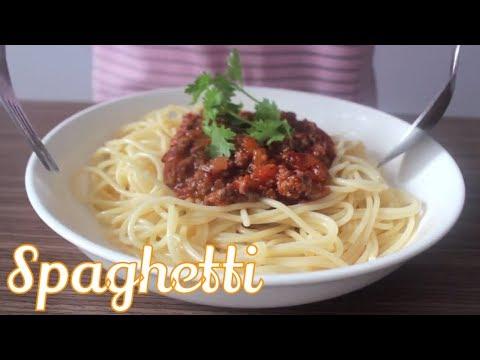 🍝 Mỳ Ý Sốt Bò Bằm đơn giản mà cực ngon | Easy Homemade SPAGHETTI & BEEF SAUCE recipe I MintaKitchen