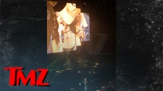 big sean intimate with rumored gf jhene aiko on stage   tmz