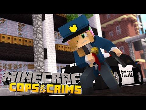 Minecraft : LITTLE KELLY GETS SHOT BY CRIMINALS!