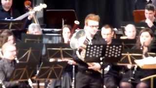 Facedown - Sven VAN CALSTER  Euphonium solo : Thomas CORMAN Video