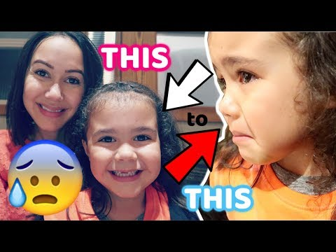 5 YEAR OLD GETS UPSET AT TOBY CARVERY!!!😰 #106 VLOG