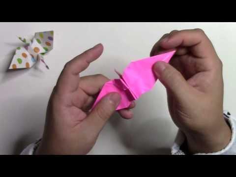 【折り紙 折り方】簡単な折り鶴(つる)の作り