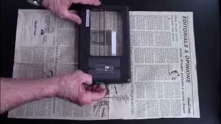 Scanning a Newspaper Article