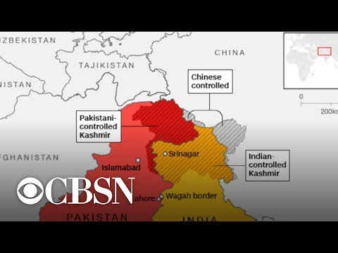 India-Pakistan tensions escalate over Kashmir